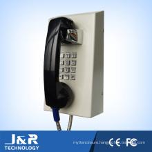 Vandal Resistant Intercom Full Keypad Inmate Telephone Rubost Prison Telephone