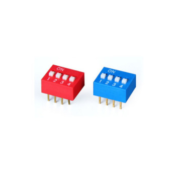 DS-04 Spdt Dip Switch con esquema de Dip Switch