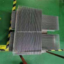 Disipador de calor de espátula de aluminio para radiador