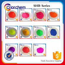 Paint and plastic coloring Fluorescent Pigment
