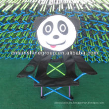 Silla de los niños de dibujos animados con bolsa de transporte D 210 para camping