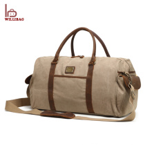 New Product Leather Gym Bag Men Travel Duffle Bag