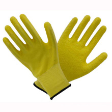 (LG-012) 13t Latex Coated Labor Protective Safety Work Gloves