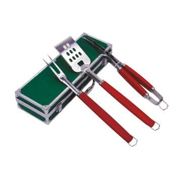 3-teilige Grillwerkzeuge aus Edelstahl