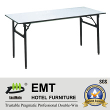 Rectangle Utility Hotel Furniture Складной банкетный стол (EMT-FT605)