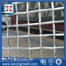 Malla de alambre prensada galvanizada