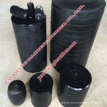 Tapones de tubería de prueba flexibles para detener las fugas del tanque de agua
