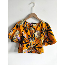Women Beach Short Blouses Clothing