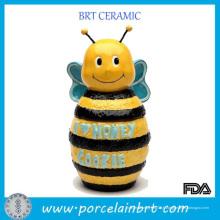 Adorable pot de miel en forme d'abeille pour la cuisine
