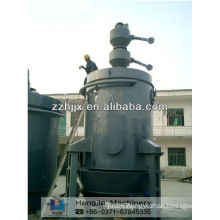 Environmentally friendly single stage coal gasifier