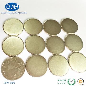 Diámetro 25 * Espesor 3 mm N35 Estándar Grado Permanencia Magnet