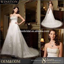 2015 New Design Top Quality China Factory Made rainbow colored wedding dresses