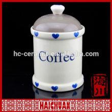 Super White Schädel Keramik Lagerung Jar