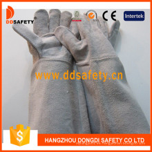 Grey Welder Work Ce Gloves Dlw620