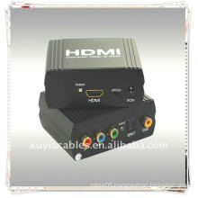 YPbPr+SPDIF TO HDMI Converter(One YUV+ YPbPr +YCbCr and SPDIF (Optical Coax) input signal convert to one HDMI )