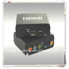 YPbPr + SPDIF ao conversor de HDMI (um YUV + YPbPr + YCbCr e sinal de entrada de SPDIF (coaxial óptico) converte a um HDMI)