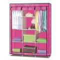 New design Canvas Wardrobe\Useful Clothes Storage Cabinet Wardrobe\ House Easy Taking Wardrobe