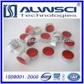 Самое лучшее цена с высокое качество 11 мм алюминиевые Обжимные крышки и Септумы силикона PTFE
