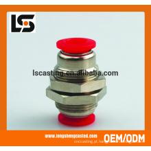 Fabricação de chapa metálica Acessórios de tubos de cobre com capacidade de produção em massa