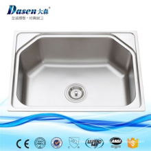 stainless steel single bowl pedicure sinks