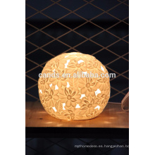 Lámpara de cerámica hecha a mano de calidad superior