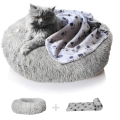 Anxiety Dog Bed Blanket Set