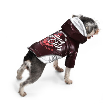 Polyester Soft  Reflective Strip Dog Jackets Winter Fashions Pet Luxury Clothes