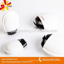 Boby cream/lotion storaged heart shaped plastic bottle