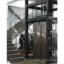 High reliable 0.5m/s automatic indoor home villa elevator