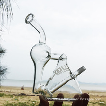 Two-in-One Recycle Creative Style Glass Chisha Smoking Water Pipes (ES-GB-260)