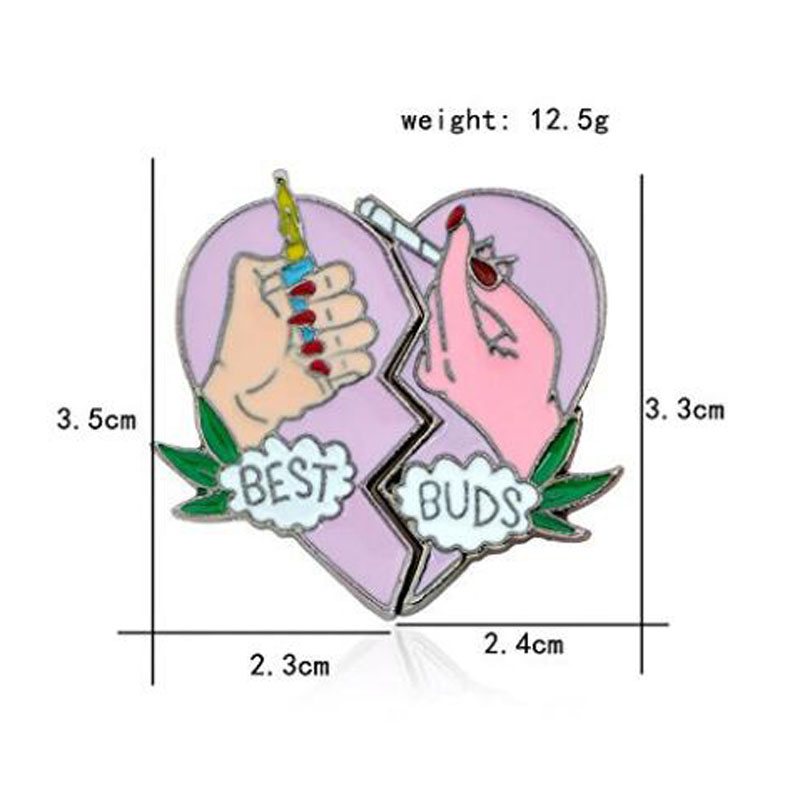 Fashion Cartoon Enamel Brooch Pin