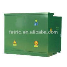 pad mounted transformers American style pre-installed, pre-combined, prefebricated pad mounted transformer substation