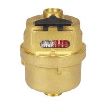 "Volumetric Piston Brass Water Meter (1/2"" to 3/4"")"
