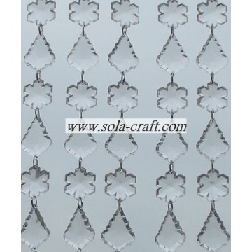 Plastic Pearl Beaded Garland for the Walls,Windows and Doorways of Home Decoration