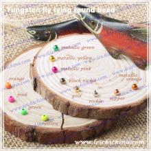 Perle ronde de pêche à la mouche en tungstène