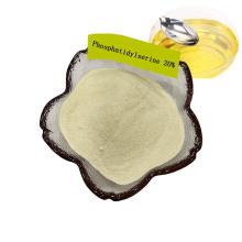 Fornecimento de fábrica de fosfatidilserina em pó 20% / extrato de óleo de soja