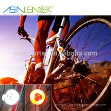 BT-4900 último diseño 3SMD On- Flash - Cycle Light LED bicicleta luz trasera