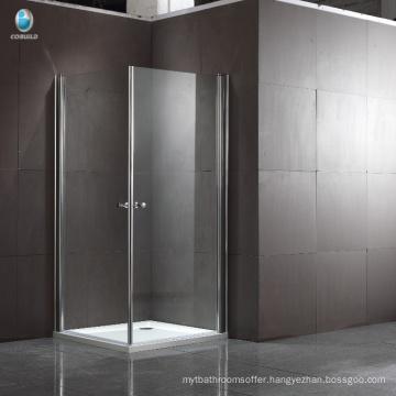 New design Shower Room 304 stainless steel Square Hinge Corner Shower Room