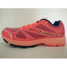 Zapatillas de deporte cómodas de malla anaranjada