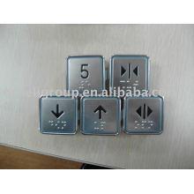 Botón de elevador, piezas de elevación