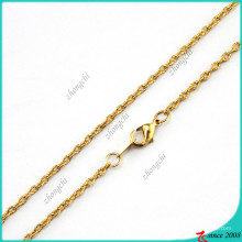 Hot Selling Gold Chain Necklace Jewelry (FN16040839)
