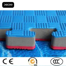 2,5 cm Cinco linhas Padrão Tapete de Karatê Taekwondo Mat