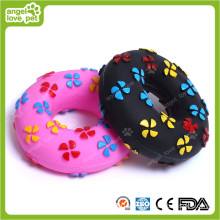 Vinyl Doughnut Pet Toys (HN-PT138)