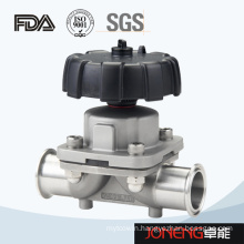 Stainless Steel Two Way Hygienic Manual Diaphragm Valve (JN-DV1010)