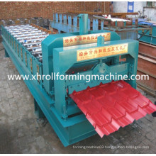 Free Spare Parts Corrugated Steel Glazed Tile Roll Forming Machine