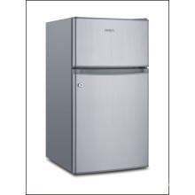 Refrigerador con congelador montado en la parte superior de dos puertas