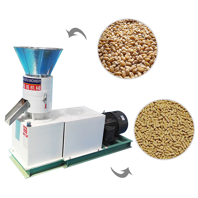 Flat Die Pellet Machine 4