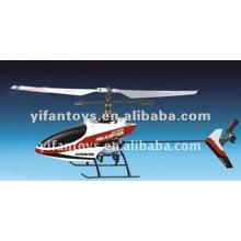 9958 O mais novo RC 2.4G mini 4Ch Hélice helicóptero com giroscópio