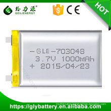Geilienergy Li-polymer 3.7V 1850mah Rechargeble Batteries