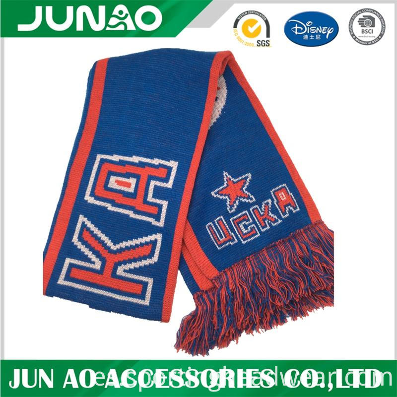 customized fans scarf